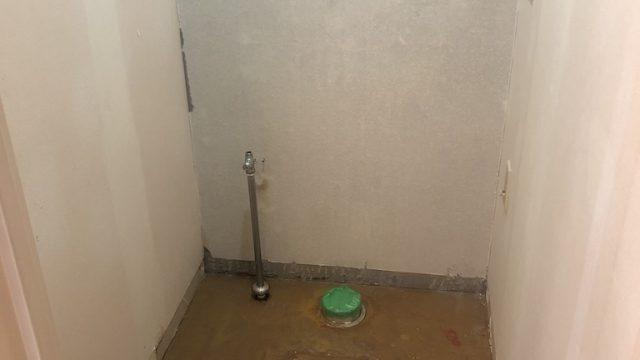 トイレ撤去